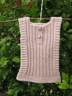 Ravelry: Sarantoya Baby Vest pattern by Kirsten Kaae