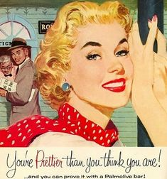 """VINTAGE TUMBLER: """"The Nifty Fifties"""". Posts of vintage art, posters, women, advertisements, and other nostalgic pics from era gone-by."""