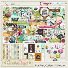 But First, Coffee! - Collection by Cornelia Designs