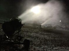 Snow guns were blasting at Treetops last night! #treetopsresort