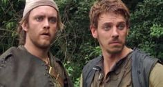 Much and Allan-he's not being funny. ( BBC robin hood fans will get this!)