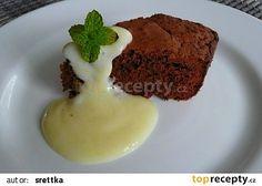 Bezlepkové brownies recept - TopRecepty.cz Brownies, Gluten Free Baking, Pudding, Food, Diet, Meal, Custard Pudding, Essen, Hoods