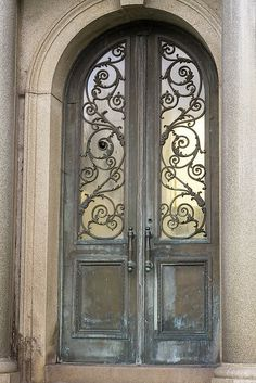 Gorgeous Entrance - love the feel and colors.  That iron scrollwork is gorgeous!