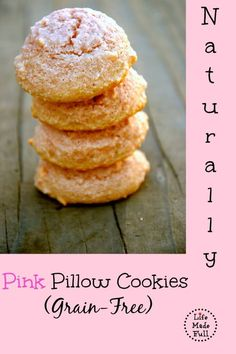 There's no need for food dye--these Naturally Pink Pillow Cookies are delicious! So lovely and amazingly simple!