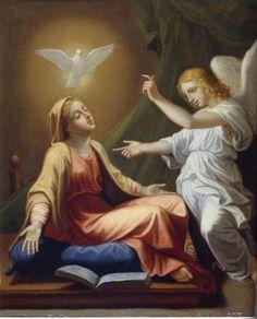 """A Ave-Maria é conhecida como """"Saudação Angélica"""", pois os primeiros versos da oração foram ditos pelo Anjo do Senhor, na ocasião da Anunciação."""