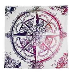 Polyester Hippie Tapestry Beach Shawl Throw Roundie Mandala Wall HangingTowel (A-8)