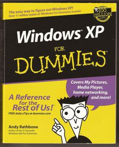 Windows XP for Dummies - clean, as new paperback Listing in the Computer Software,Non Fiction,Books,Books, Comics  & Magazines Category on #eBid United Kingdom