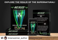 Go get your copy of nexus!  Repost @brianweimer_author with @repostapp  Thanks to @drop.dead.design for this promotional mockup for Nexus available now in paperback and kindle through Amazon.com!  #author #writer #writersofinstagram #bookish #bookstagram