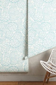 Petal Pusher Wallpaper - anthropologie.com