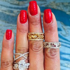 These Delicate Bands Are Perfect For Building Stacks Available In 14K Or 18K White