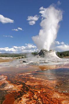 Le parc national du Yellowstone - États-Unis