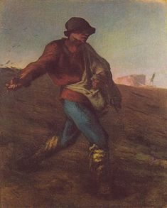 The Sower, 1850. Museum of Fine Arts, Boston.