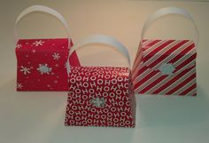 12 Large Christmas gift boxes/party favors - FULLY ASSEMBLED