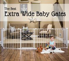 Adjustable Baby Gate, Extra Wide Baby Gate, Large Baby Gate, Best Baby Gates, Retractable Baby Gate, Child Safety Gates, Child Fence, Kids Gate, Stair Gate