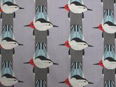 Fabric Godmother - Chrley Harper Upside Down Organic Cotton - Grey, £15.00 (http://www.fabricgodmother.co.uk/chrley-harper-upside-down-organic-cotton-grey/)