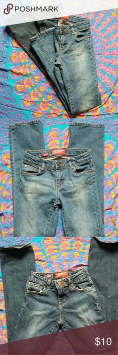 Bundle of Arizona Bootcut Jeans Size 12 slim girls jeans, both pair have adjustable waist if needed! Arizona Jean Company Bottoms Jeans
