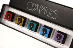 Compartes LA Glamour Chocolate Collection
