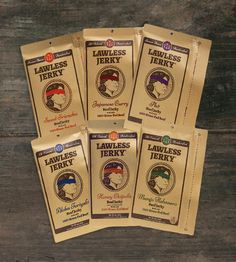 Beef Jerky Sampler – Set of 4 | Quick bites for the indecisive snacker. This all-natural beef ... | Jerky