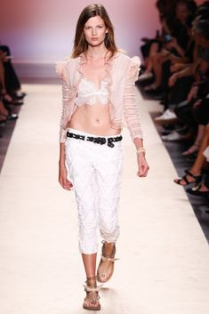 Isabel Marant Spring 2014 Ready-to-Wear Fashion Show - Bette Franke