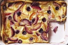 Recipe: Cardamom and Stone Fruit Clafoutis — Farmstand Freestyle