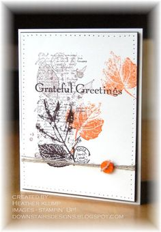 French Foliage/Grateful Greetings