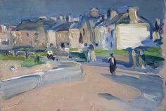 Peploe, 'Evening, North Berwick' / Scottish Colourists / Kelvingrove Art Gallery