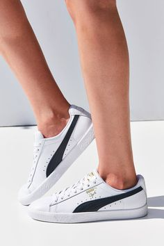 1146513c863499 Shop Puma Clyde Core Foil Sneaker at Urban Outfitters today. We carry all  the latest