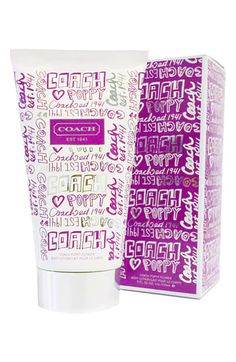 COACH 'Poppy Flower' Body Lotion available at #Nordstrom