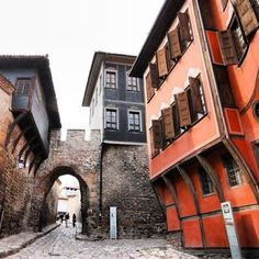 Old Town in Plovdiv, #Bulgaria still holds Bulgarian #Renaissance charm.    Photo courtesy of kbyoga on Instagram.