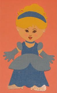 Cinderella ~ Disney ~ Cricut ~ Around the Block with scrapalette