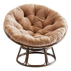 Boho Bedroom Discover Papasan Chair Frame with Cushion Boho Living Room, Living Room Chairs, Bedroom Lounge Chairs, Comfy Bedroom Chair, Comfy Reading Chair, Comfy Chair, Boho Room, Lounge Furniture, Dining Room