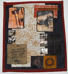 another art quilt from my rusty art quilt series