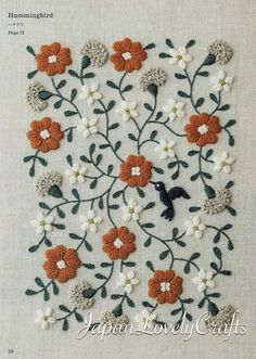 Embroidery Stitches Count long Embroidery Designs Churidar every Embroidery Designs Kitchen Towels Embroidery Leaf, Embroidery Flowers Pattern, Embroidery Stitches Tutorial, Embroidery Patterns Free, Japanese Embroidery, Hand Embroidery Designs, Vintage Embroidery, Embroidery Kits, Machine Embroidery