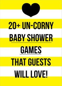 20+ Un-Corny Baby Shower Games That Your Guests Will Love!