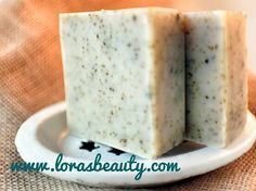 Patchouli cedar sage goats' milk soap is a great woodsy bar for all those who love the outdoors! #lorasbeauty #goatmilksoap #goatsmilksoap #patchouli #sage #cedarwood #outdoorsman #stockingstuffers