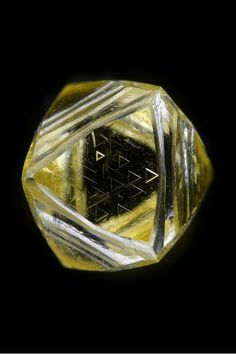 Diamond: Mineral information, data and localities. Minerals And Gemstones, Crystals Minerals, Rocks And Minerals, Crystals And Gemstones, Stones And Crystals, Gem Diamonds, Beautiful Rocks, Mineral Stone, Rough Diamond