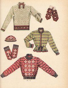 Estonian knitting from Kate Davies' blog