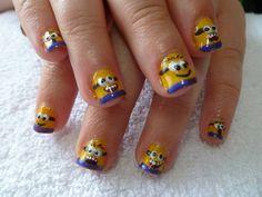 Minon nail art tutorial
