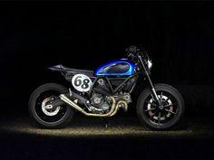 Ducati Scrambler Umbau Café Racer # Wheels&Waves