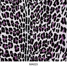 Water transfer film animal skin pattern MA023