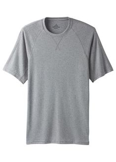 Prana Mens Transverse Short Sleeve Crew Mid Grey (Close Out) Summer Outfits Men, Summer Clothes, Short Sleeves, Tops, Women, Fashion, Moda, Summer Clothing, Fashion Styles