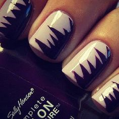 #nails #style #edgy