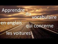 Le vocabulaire des voitures en Anglais - YouTube