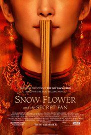 Snow Flower and the Secret Fan book.  Good read. Disturbing cultural confinement but good to know.  I couldn't quit listening.