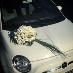 Wedding car flowers Wedding Car, Wedding Ceremony, Preparing For Marriage, Car Ornaments, Wedding Arrangements, Bridesmaid Bouquet, Wedding Flowers, Wedding Planning, Ideas