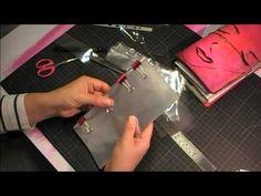 DIY Plastic pockets for your Dori/  My recipes storage - YouTube