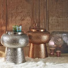 Moroccan stool\side table