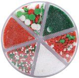 Wilton 6 Color Christmas Sprinkle Mix $4.57