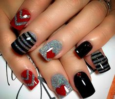 Kids Pedicure Designs Valentines Day 21 Ideas For 2019 Valentine's Day Nail Designs, Pedicure Designs, Acrylic Nail Designs, Get Nails, Fancy Nails, Super Cute Nails, Pretty Nails, Fabulous Nails, Perfect Nails