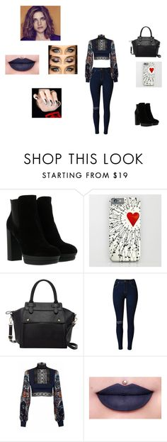 """Street style"" by aneishascotland on Polyvore featuring Hogan, Pink Haley, JIRI KALFAR and Jeffree Star"
